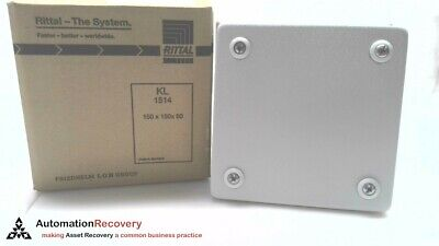Rittal Kl 1514.510, Terminal Box Without Flange, 150 X 150 X 80,, New #190183