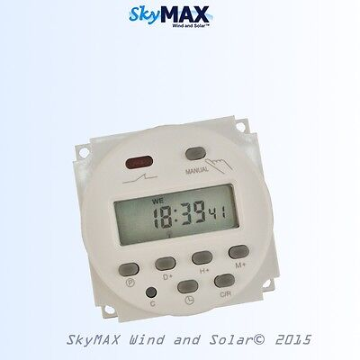 Digital programmable timer 12 Volt DC