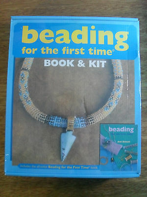 Beading For The First Time by Ann Benson - Book And Kit (Sealed Brand New)