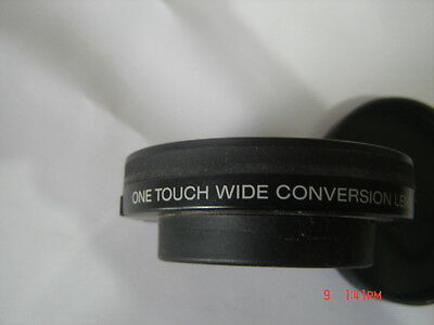 Sony VCL-ES06 WIDE CONVERSION  LENS X 0.6. Made in Japan