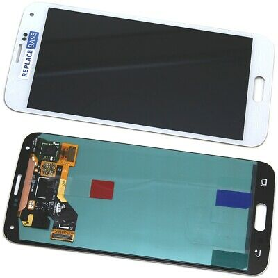 Samsung Galaxy S5 LCD Touch Screen Digitizer Assembly Replacement Original White