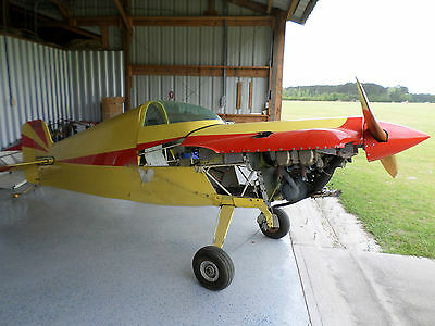 1979 Cassutt Sport Experimental Airplane with O-200 Continental Engine.