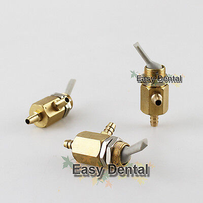 3pcs Dental Valve On Off Switch Toggle for Dental Chair Unit Water Bottle Parts