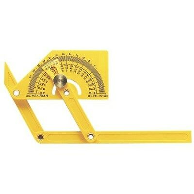 General Tools 29 Plastic Protractor And Angle Finder With Articulating Arms *