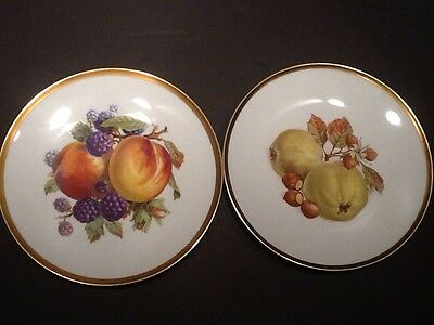 Mitterteich Bavaria Germany Dessert/Fruit/Salad Plates. Six Plates Are Included.