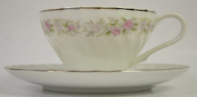 Dansico fine China of Japan Tea House rose Cup and Saucer
