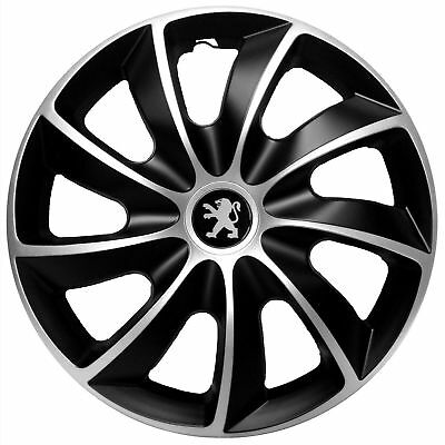 "15"" Peugeot Partner 307 308 207 208 WHEEL TRIMS COVERS  HUB CAPS  SET OF 4 x15''"