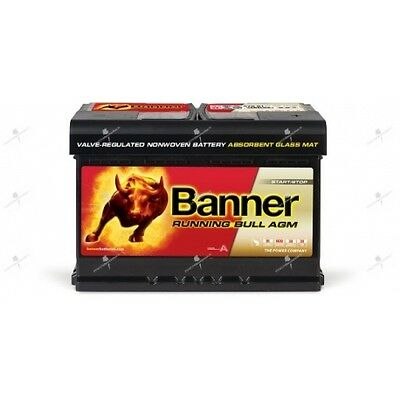 Batterie Banner 57001 AGM 12v 70ah 720A décharge lente start and stop
