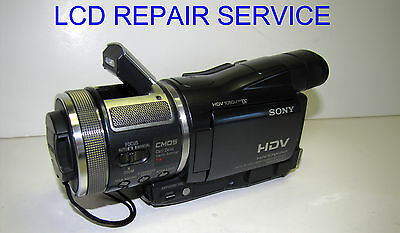 We repair your LCD problems for Sony HDR-HC1 HVR-A1U HVR-A1J HVR-A1N