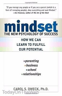 Mindset: The New Psychology of Success (New Paperback) by Carol Dweck