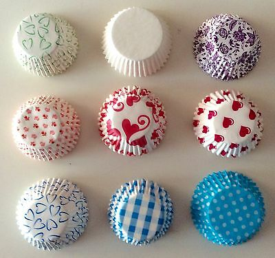 50 cases/cápsulas cupcake/muffin - 9 differents models/9 modelos diferentes