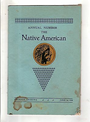 1928 Native American Annual Number - Phoenix Indian School Publication;