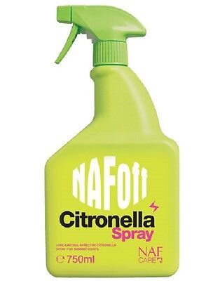 NAF OFF CITRONELLA SPRAY **ALL SIZES** horse fly spray equine fly protection