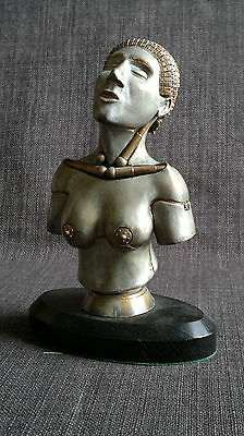 Female nude android bust 1/6 sculpture sci-fi