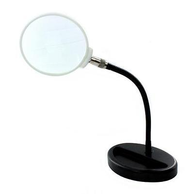 Model Craft Magnifying Glass with Flexible Neck on Heavy Base 1.75 Magnification