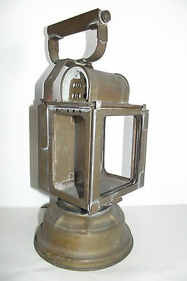 05A213 Ancienne Lampe Lanterne Butin Gare Chemin De Fer Train Locomotive Sncf