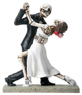 NEW! Day of the Dead Wedding Couple Dancing Figurine DOD Collectible Statue 8067