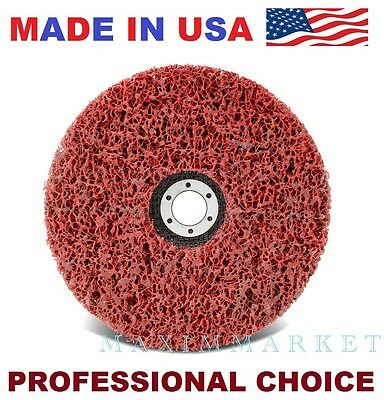 """CGW 7"""" X 7/8"""" EZ Strip Disc Extra Course for Paint & Rust Removal & Cleaning"""