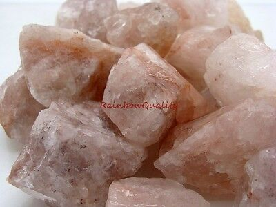 Natural FIRE QUARTZ Gemstone Rough - 1 Lb Lots, Great for Tumbling or Cabbing