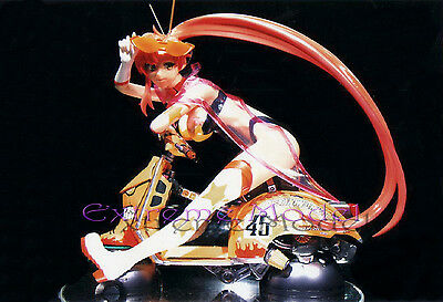 1/6 Gurren Lagann - Yoko Space Outfit w Space Scooter Unpainted Resin Model Kit