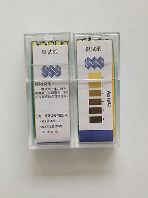 100 Strips SSS Fixing Bath Fixer Ag Silver Test Paper New free shipping #J568 lx