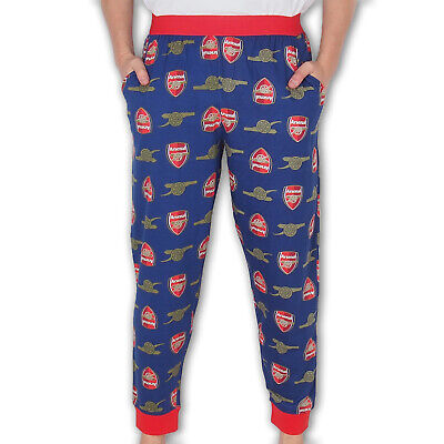 Arsenal FC Official Football Gift Mens Lounge Pants Pyjama Bottoms