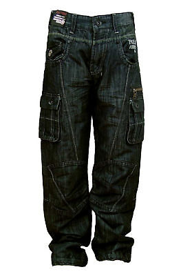 Boys New Stylish/Fashion Jeans Combat Style Quality NYC Freaky Jeans