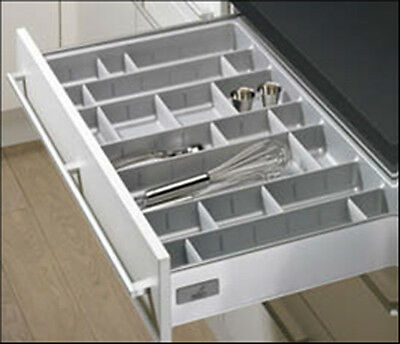 InnoTech Adjustable Cutlery Tray Blum Equiv (Measure Inside Drawer - See Sizes)