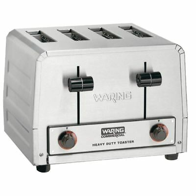 Waring Commercial 4 Slice Toaster WCT805K Silver Colour Stainless Steel