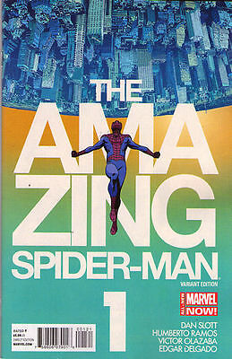 AMAZING SPIDER-MAN (2014) #1 - Marvel Now - Marcos Martin VARIANT Cover 1:50