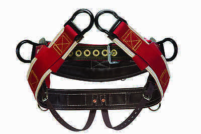 """Weaver Leather 4-Dee Extra Wide Arborist Saddle with 1"""" Leg Straps - WLC-315"""
