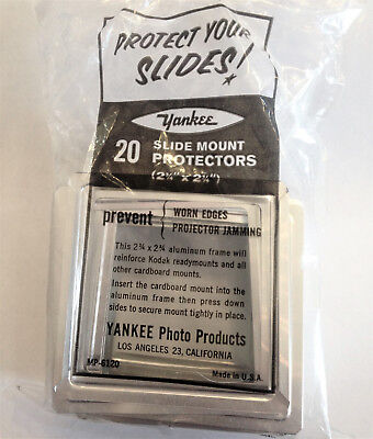 Medium Format Slide Mount Protectors Aluminum, Package Of 240 Slides, New