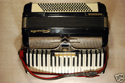 FIROTTI ELEGANCE GERMAN PIANO ACCORDION 120 BASS * EXC COND IN CASE WELTMEISTER