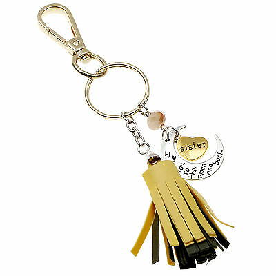 Simple Design Key Ring Cute Keychain With Letters Cute Lover Gift For Girls Boys