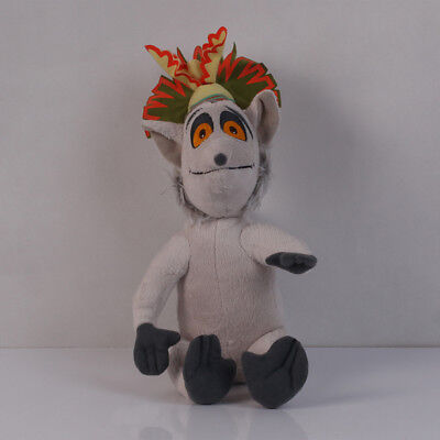 Penguins of Madagascar King Julien Lemur Plush Stuffed Doll Hot Sold So Lovely