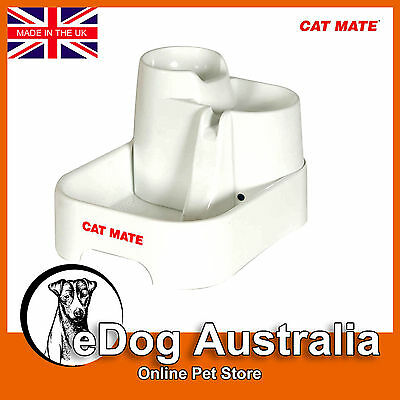 Cat Mate Water Fountain 2 Litre Automatic For Dog & Cat Multi Height UK Product