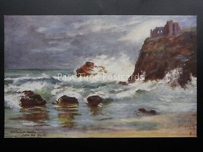 East Lothian TANTALLON CASTLE FROM THE NORTH - STOLTERFOCH c1907 by R. Tuck 7214