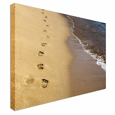 FRAMED PRINT OF the poem; Footprints in the sand. - £14.99   PicClick UK