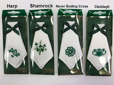 Irish Linen Handkerchiefs