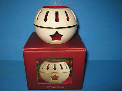 Lenox Jingle Bell Seasonal Brites Votive Candle Holder With Box