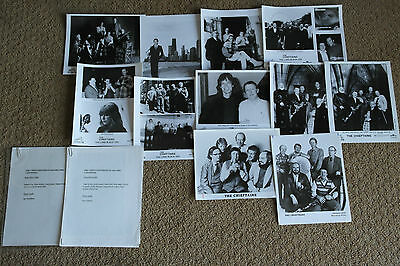The Chieftains Press Kit Vintage Photo Photographs Black And White