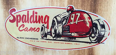 Oldschool Aufkleber Spalding Cams / Hot Rod & Muscle Car Sticker USA Ratrod V8