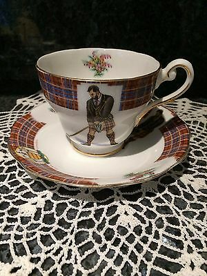 Clan Cameron Bonnie Scotland Royal Standard Bone China Cup And Saucer    England