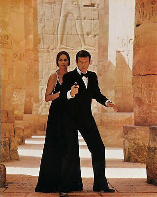 Roger Moore & Barbara Bach [1034718] 8x10 photo (other sizes available)