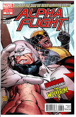 Marvel Comics ALPHA FLIGHT 2012 #7 FN/VF Wolverine