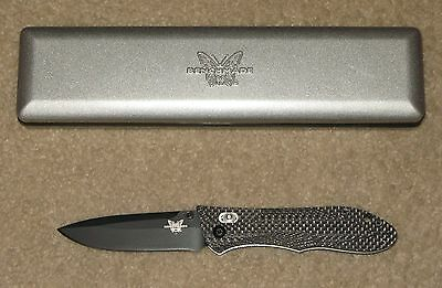 Benchmade 730CFHS Ares Limited Edition! Carbon Fiber and M2 High Speed Steel!