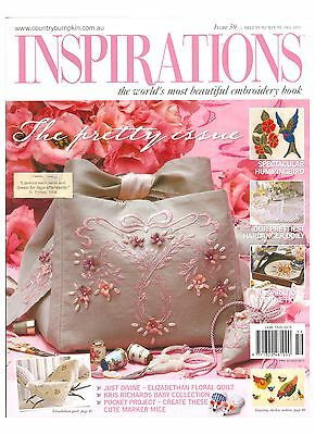 Inspirations Issue #59 Embroidery Sewing Magazine Incl Patterns - New