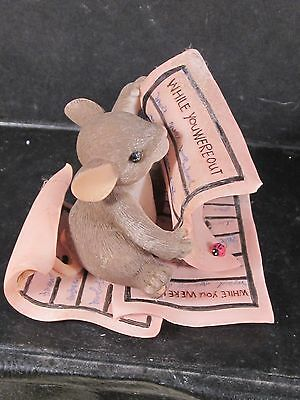 Charming Tails WHILE YOU WERE OUT Mouse Memo Pad 89/155