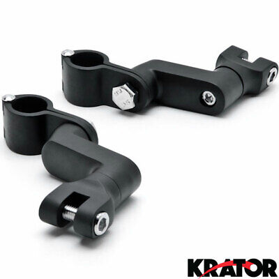 Engine Guard Peg Clamps For BMW K R S 75 80 100 1100 1200 1300 1600