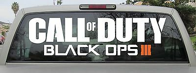 Call of Duty Black Ops 3 Sticker Vinyl Decal You Choose Size - Brand New!